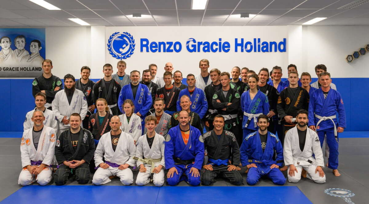 Renzo Gracie Holland groepsfoto