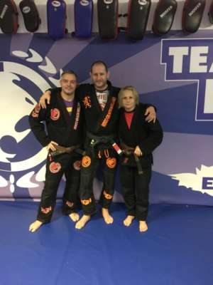 Promoties december 2017 Renzo Gracie Hamburg