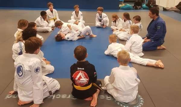 Bjj Kids Oefenen