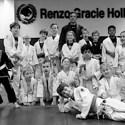 Bjj Kids 2 Groepsfoto Renzo Gracie Holland